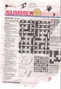 DA cryptic crossword the age beaches theme 23rd january 2009 smh