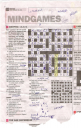 DA cryptic crossword the age with the MC and golden arches