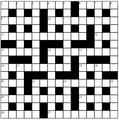 AS cryptic crossword special