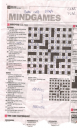 crossword da rough work